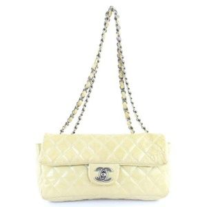 Quilted Patent Single Flap 220562